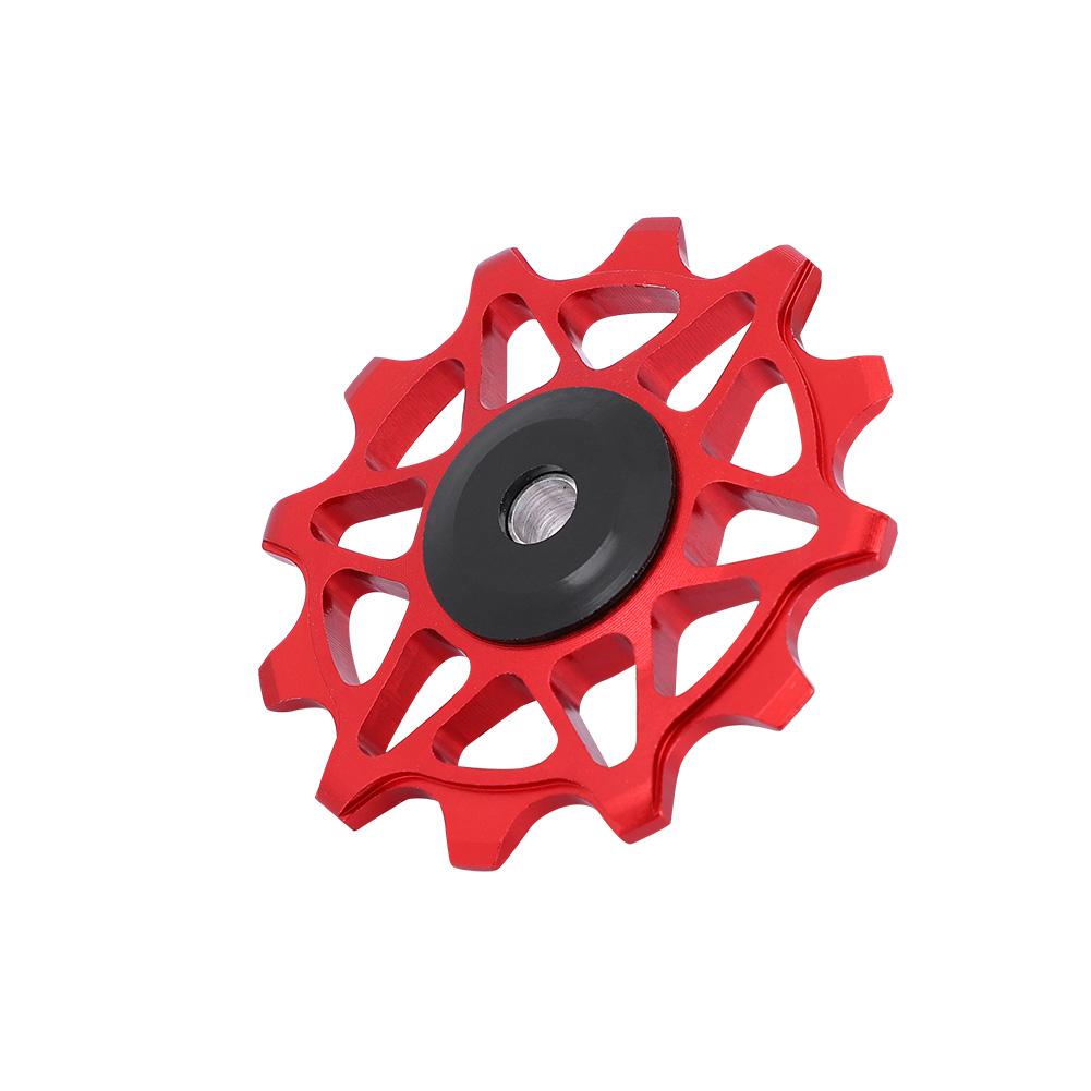 12T-Bike-Rear-Derailleur-Solid-Pulley-Bearing-Jockey-Wheel-for-8-9-10-11-Speed thumbnail 16