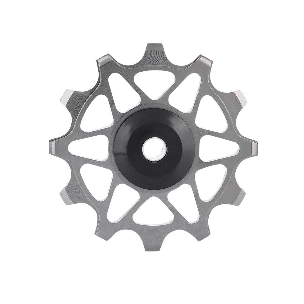 12T-Bike-Rear-Derailleur-Solid-Pulley-Bearing-Jockey-Wheel-for-8-9-10-11-Speed thumbnail 21