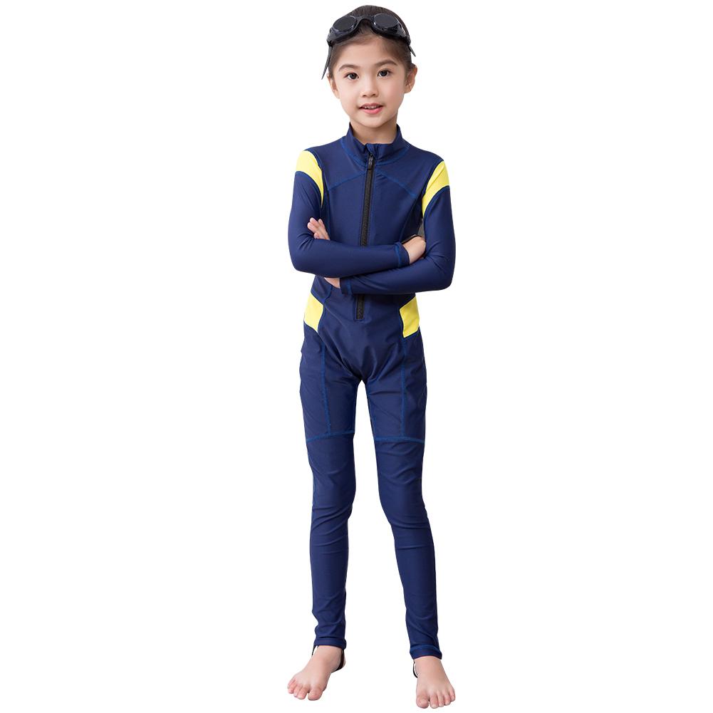 Kids-Scuba-Diving-Suit-One-piece-Snorkeling-Wetsuit-Long-Sleeve-Surf-Swimwear thumbnail 18