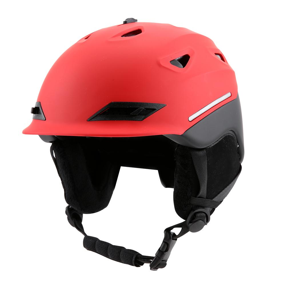 Ski Snow Snowboard Goggles Helmet With Visor Goggles Snowboard Sports Breathable Head Protector 46cbbd