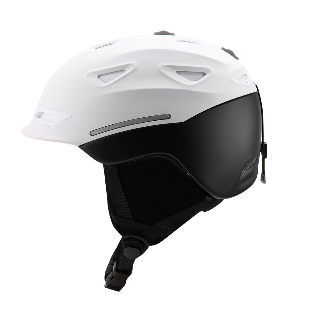Ski-Snowboard-Helmet-With-Visor-Goggles-Outdoor-Sports-Adjustable-Head-Protector thumbnail 38
