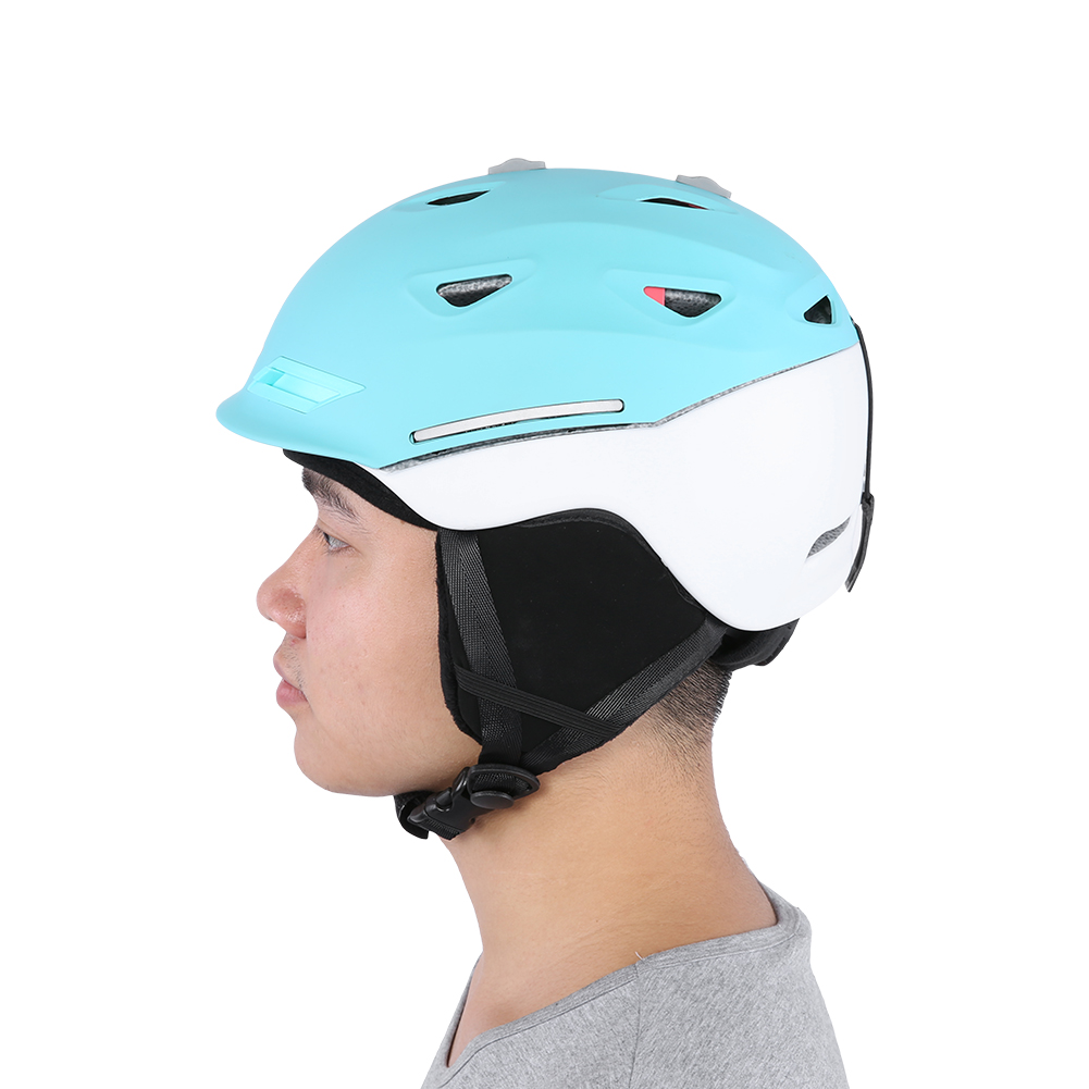 Ski-Snowboard-Helmet-With-Visor-Goggles-Outdoor-Sports-Adjustable-Head-Protector thumbnail 60