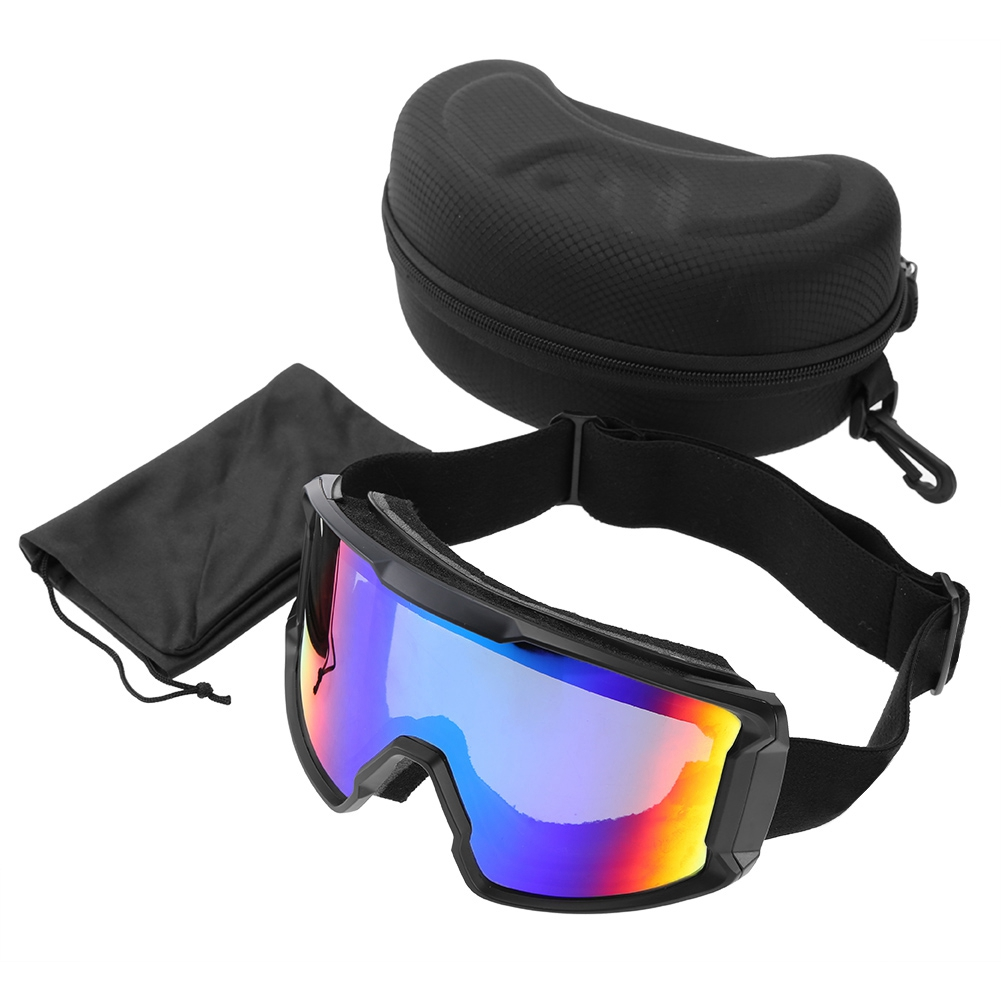 Ski-Snowboard-Helmet-With-Visor-Goggles-Outdoor-Sports-Adjustable-Head-Protector thumbnail 91