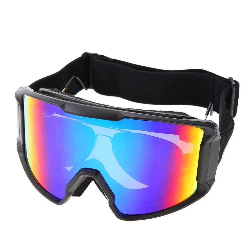 Ski-Snowboard-Helmet-With-Visor-Goggles-Outdoor-Sports-Adjustable-Head-Protector thumbnail 92