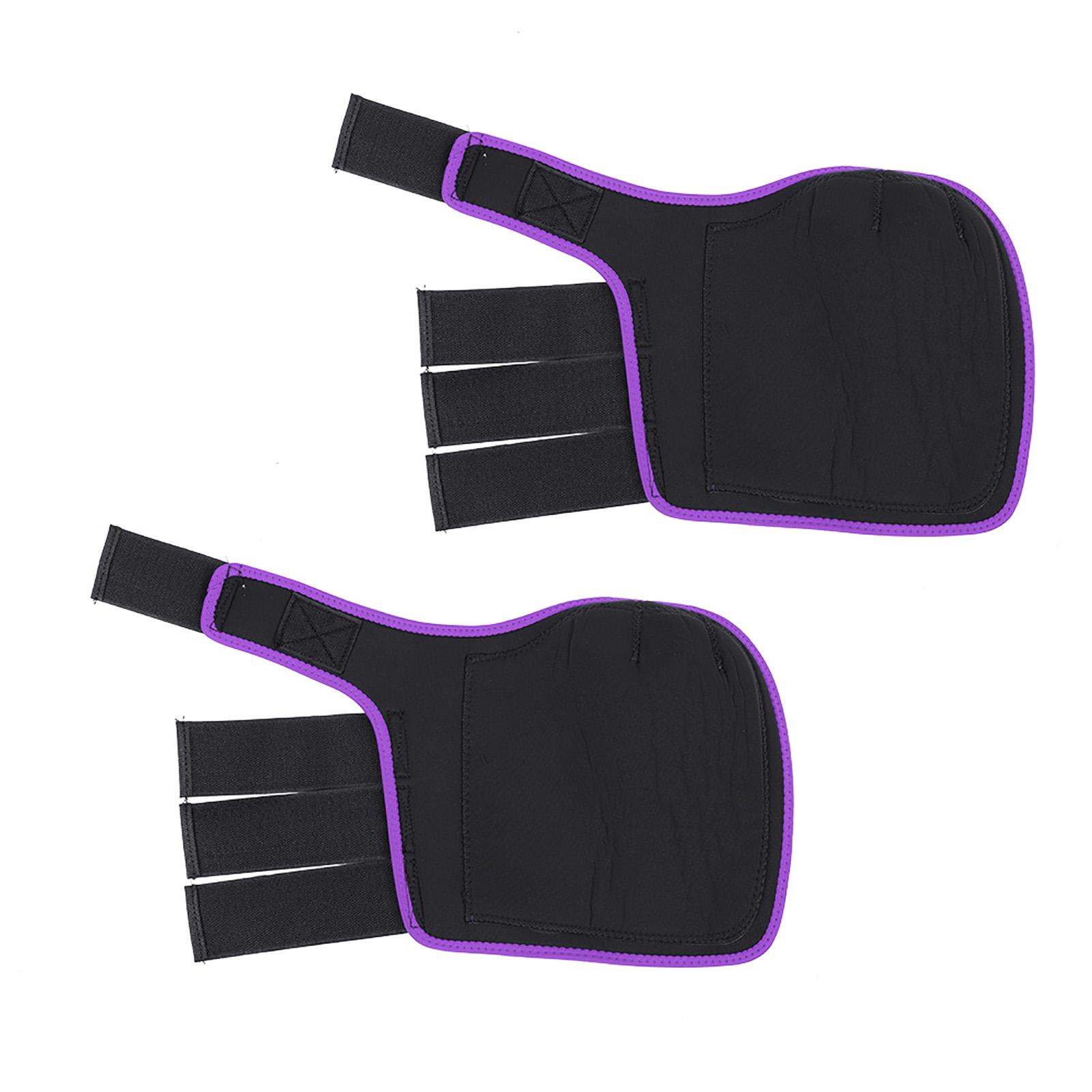 Verstellbare-Pferd-Bein-Stiefel-vorne-Hinterbeine-Bein-Sehnen-Protektor-Reitsport-Unterstuetzung Indexbild 25