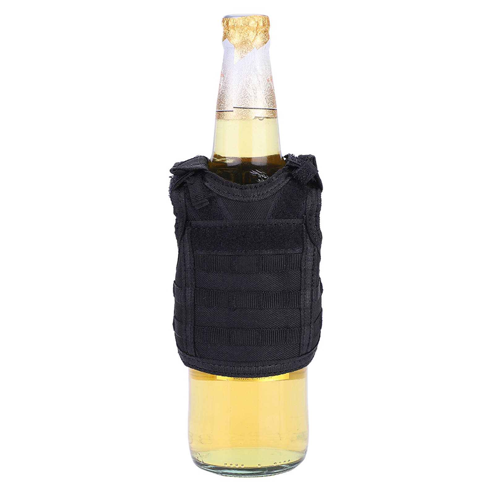 Mini-Military-Tactic-Beer-Water-Bottle-Can-Vest-Carrier-Holder-Beverage-Cover thumbnail 19