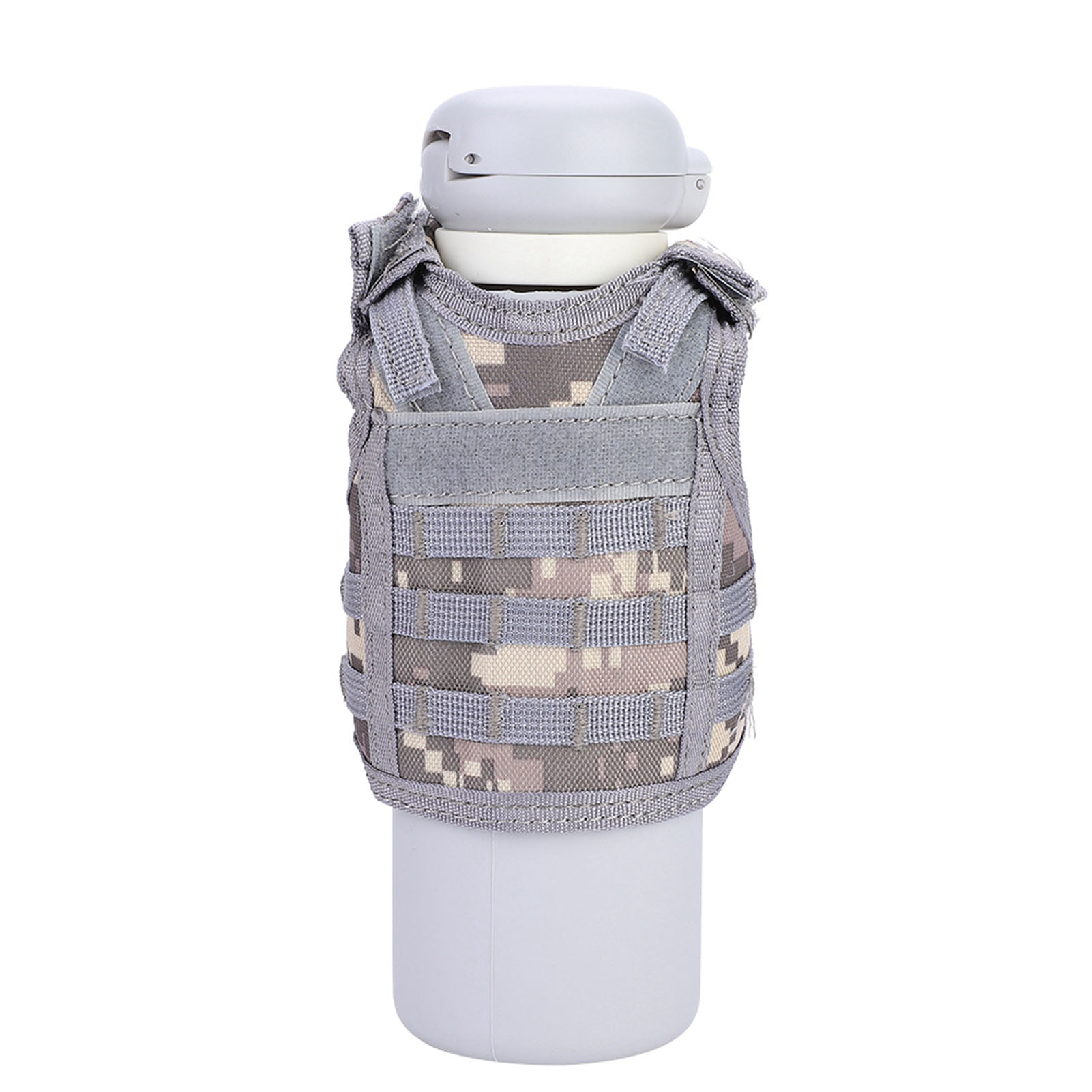 Mini-Military-Tactic-Beer-Water-Bottle-Can-Vest-Carrier-Holder-Beverage-Cover thumbnail 25