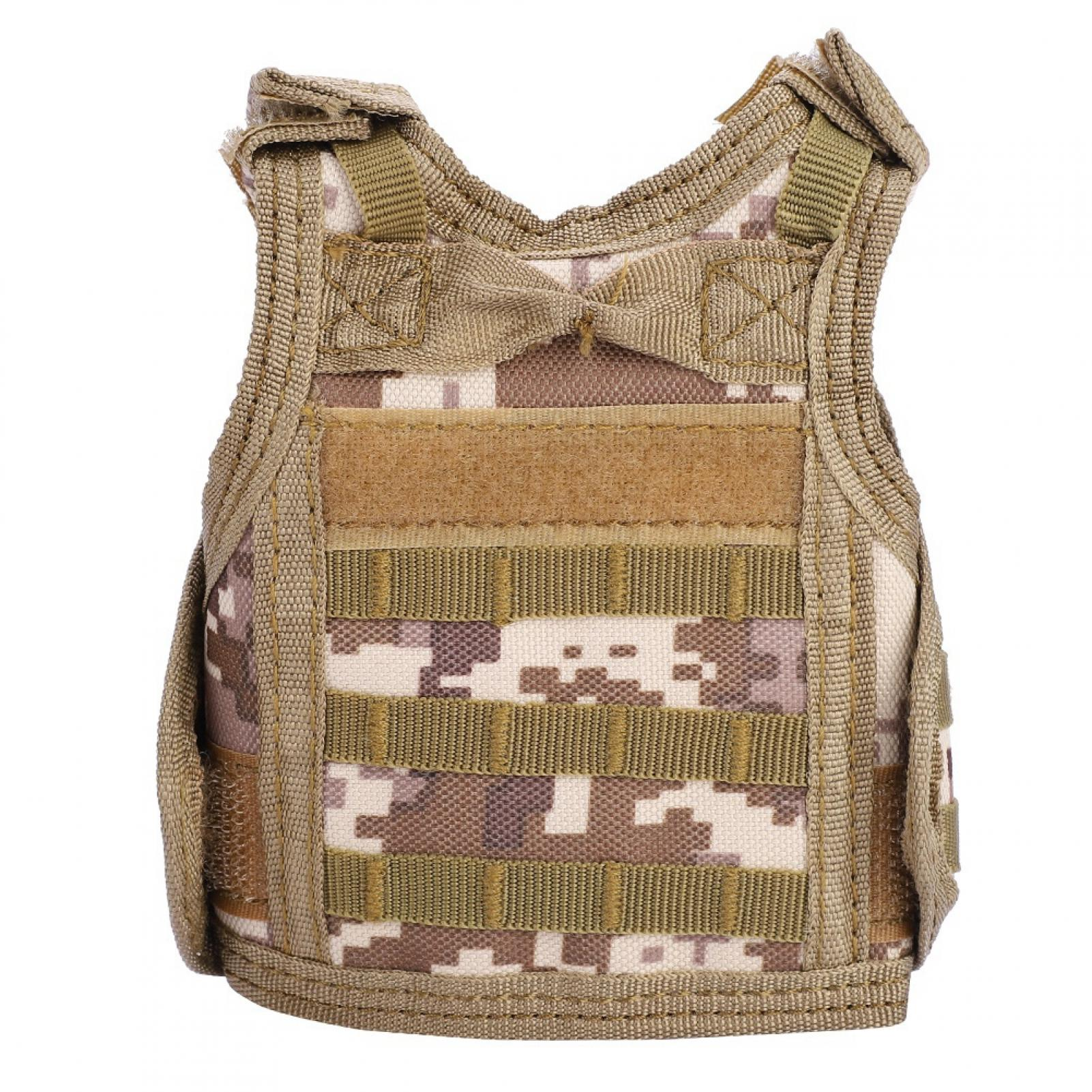 Mini-Military-Tactic-Beer-Water-Bottle-Can-Vest-Carrier-Holder-Beverage-Cover thumbnail 28