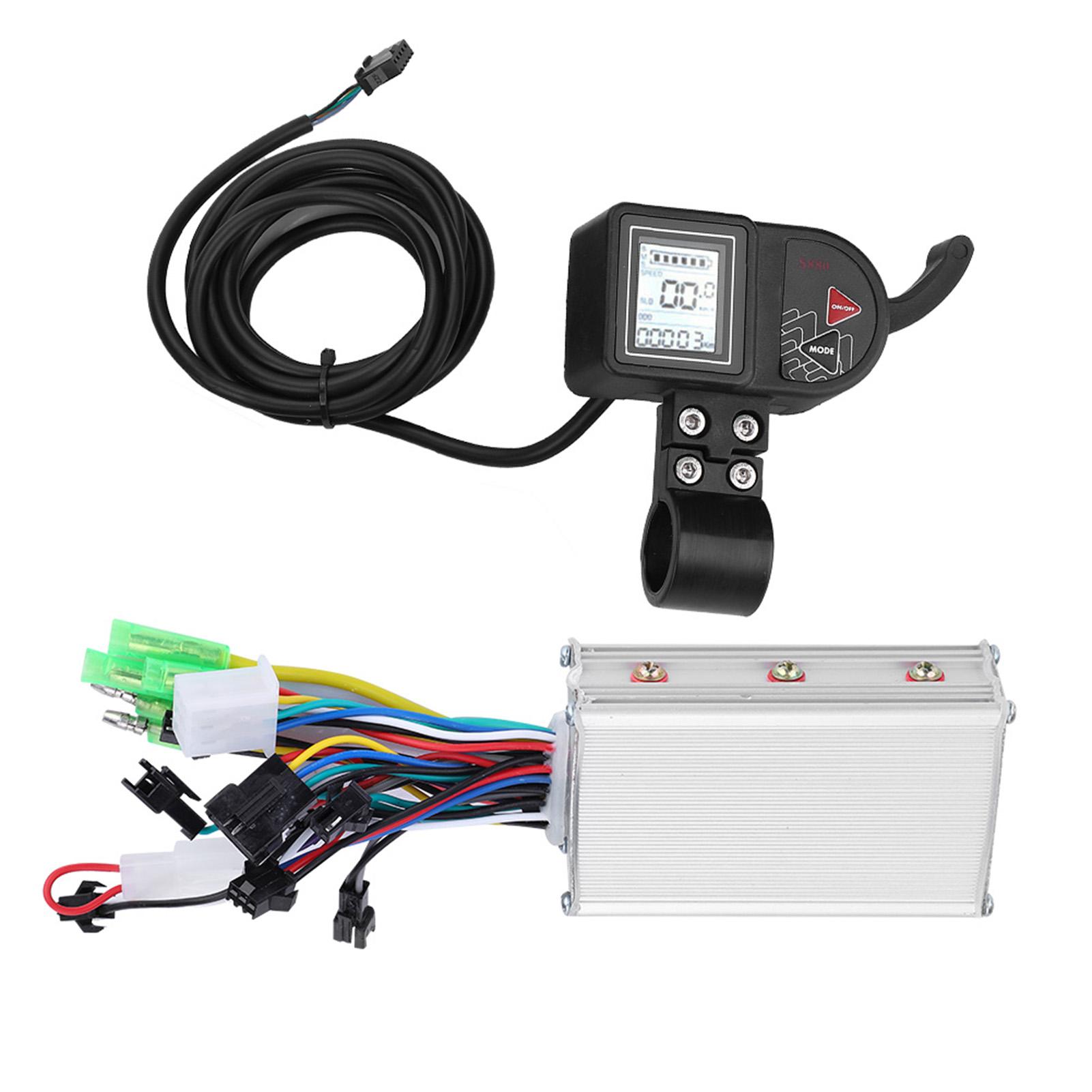 24-60V-Brushless-Motor-Controller-LCD-Panel-for-E-bike-Electric-Bike-Scooter-Kit thumbnail 29