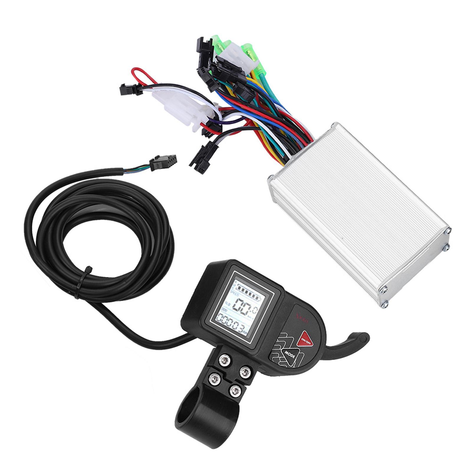 24-60V-Brushless-Motor-Controller-LCD-Panel-for-E-bike-Electric-Bike-Scooter-Kit thumbnail 30