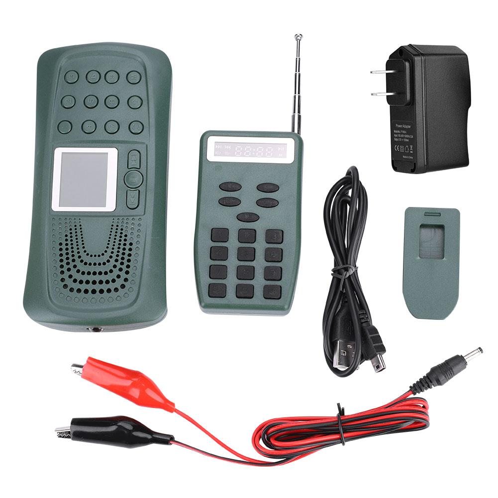 Hunting Bird Caller MP3 Player Sound Player MP3 35W Speaker Remote Control 110 Bird Sounds f2bb53