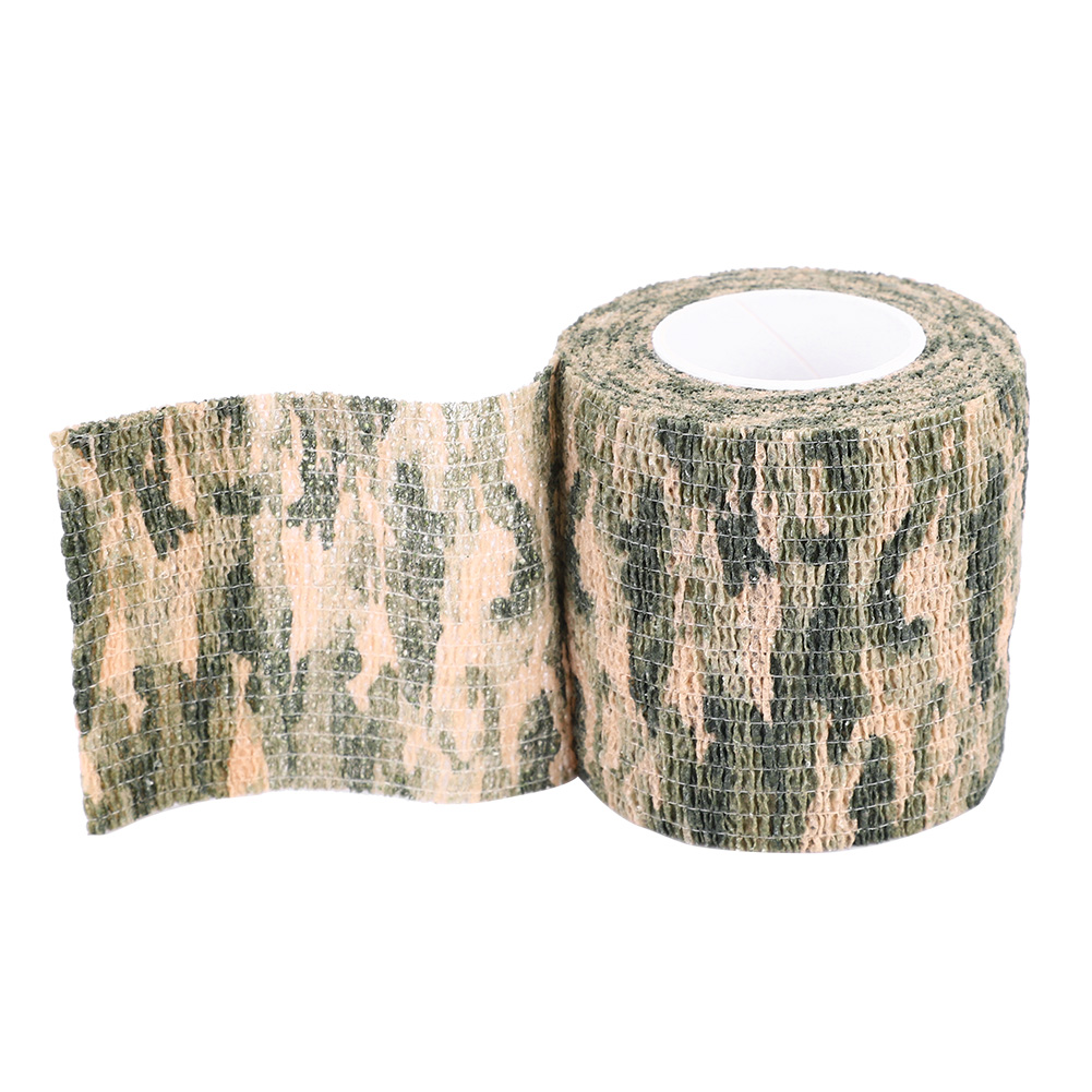 Tactic-Self-adhesive-Camouflage-Wrap-Rifle-Hunting-Camo-Stealth-Tape-Non-woven thumbnail 10