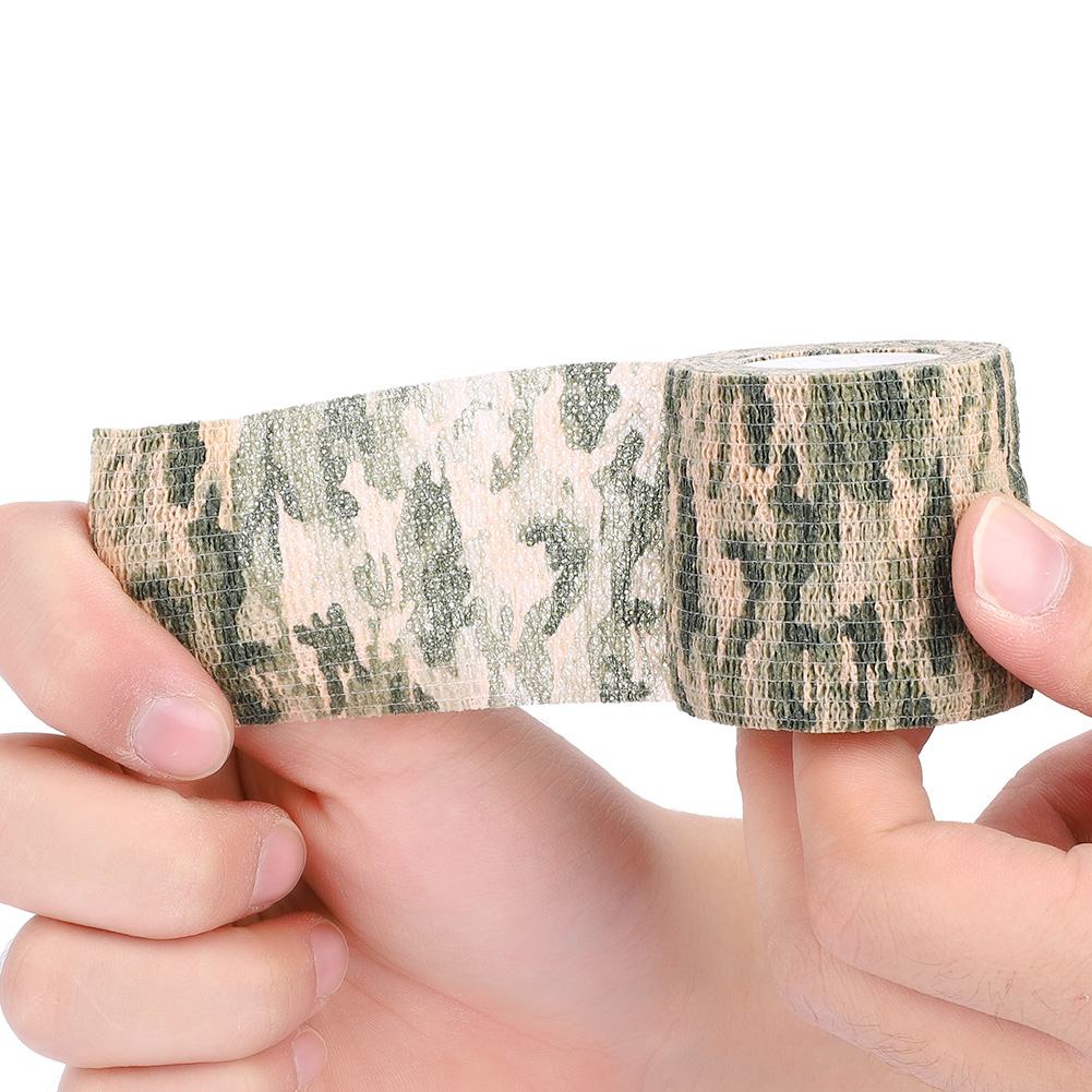 Tactic-Self-adhesive-Camouflage-Wrap-Rifle-Hunting-Camo-Stealth-Tape-Non-woven thumbnail 11