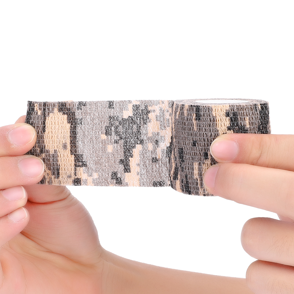 Tactic-Self-adhesive-Camouflage-Wrap-Rifle-Hunting-Camo-Stealth-Tape-Non-woven thumbnail 14