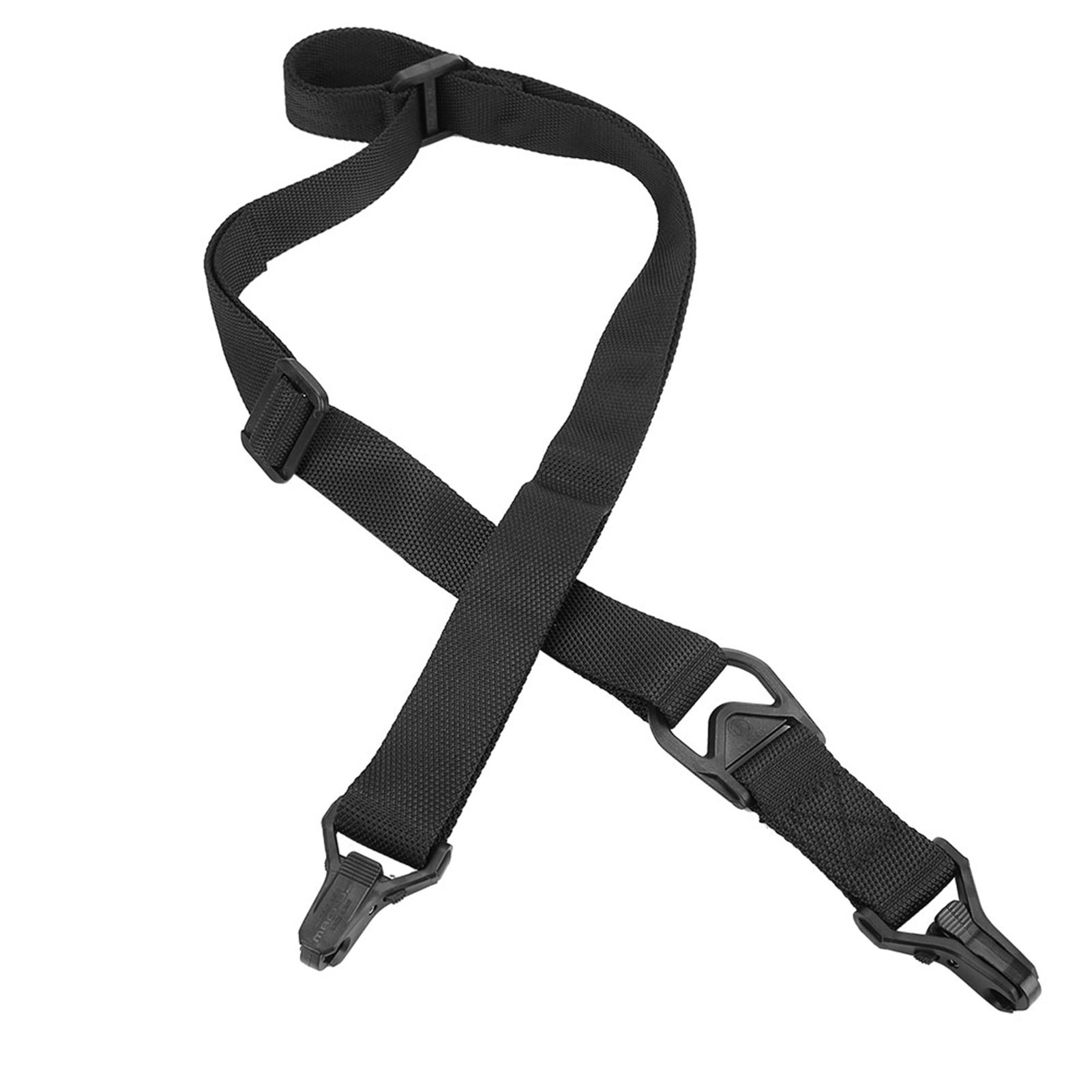 Tactical-1-2-Point-Rifle-Sling-System-Strap-Hunting-Bungee-Quick-Release-Detach thumbnail 17