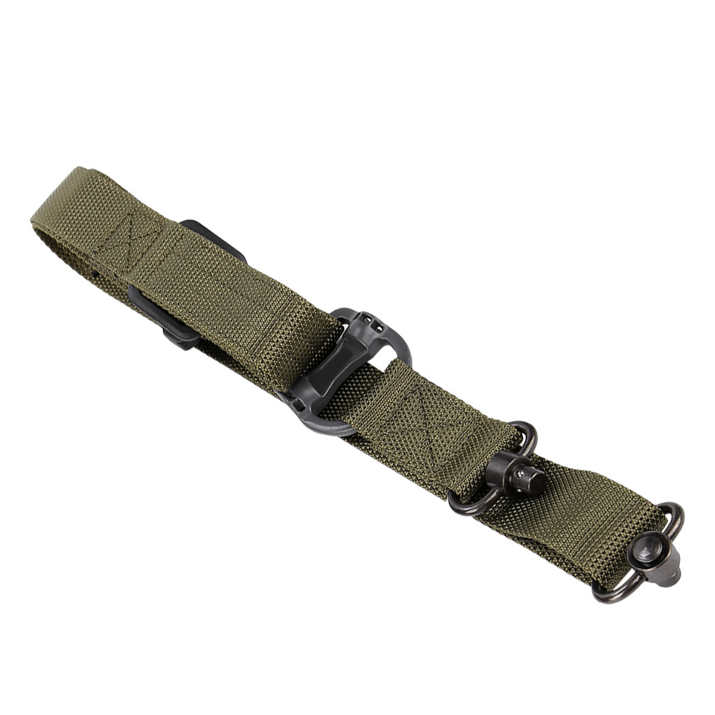 Tactical-1-2-Point-Rifle-Sling-System-Strap-Hunting-Bungee-Quick-Release-Detach thumbnail 31