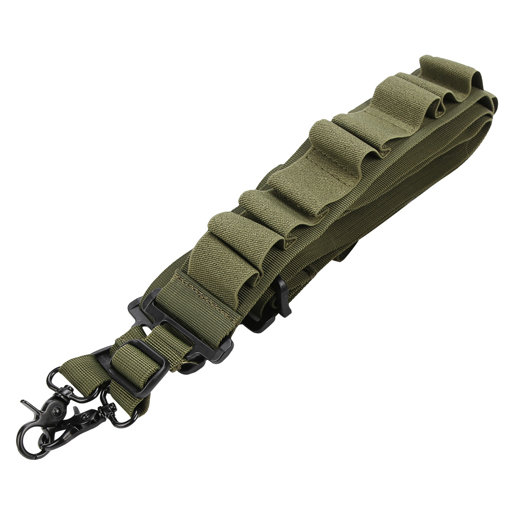 Tactical-1-2-Point-Rifle-Sling-System-Strap-Hunting-Bungee-Quick-Release-Detach thumbnail 39