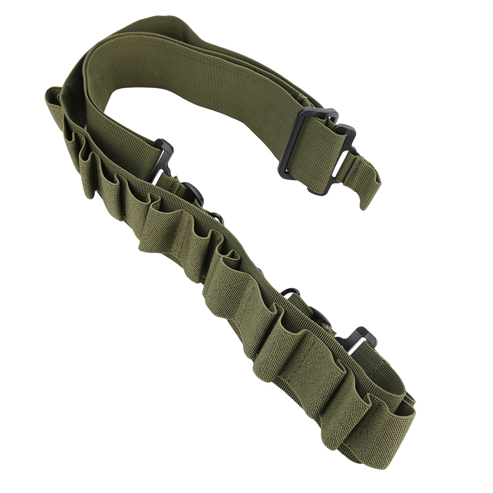 Tactical-1-2-Point-Rifle-Sling-System-Strap-Hunting-Bungee-Quick-Release-Detach thumbnail 40