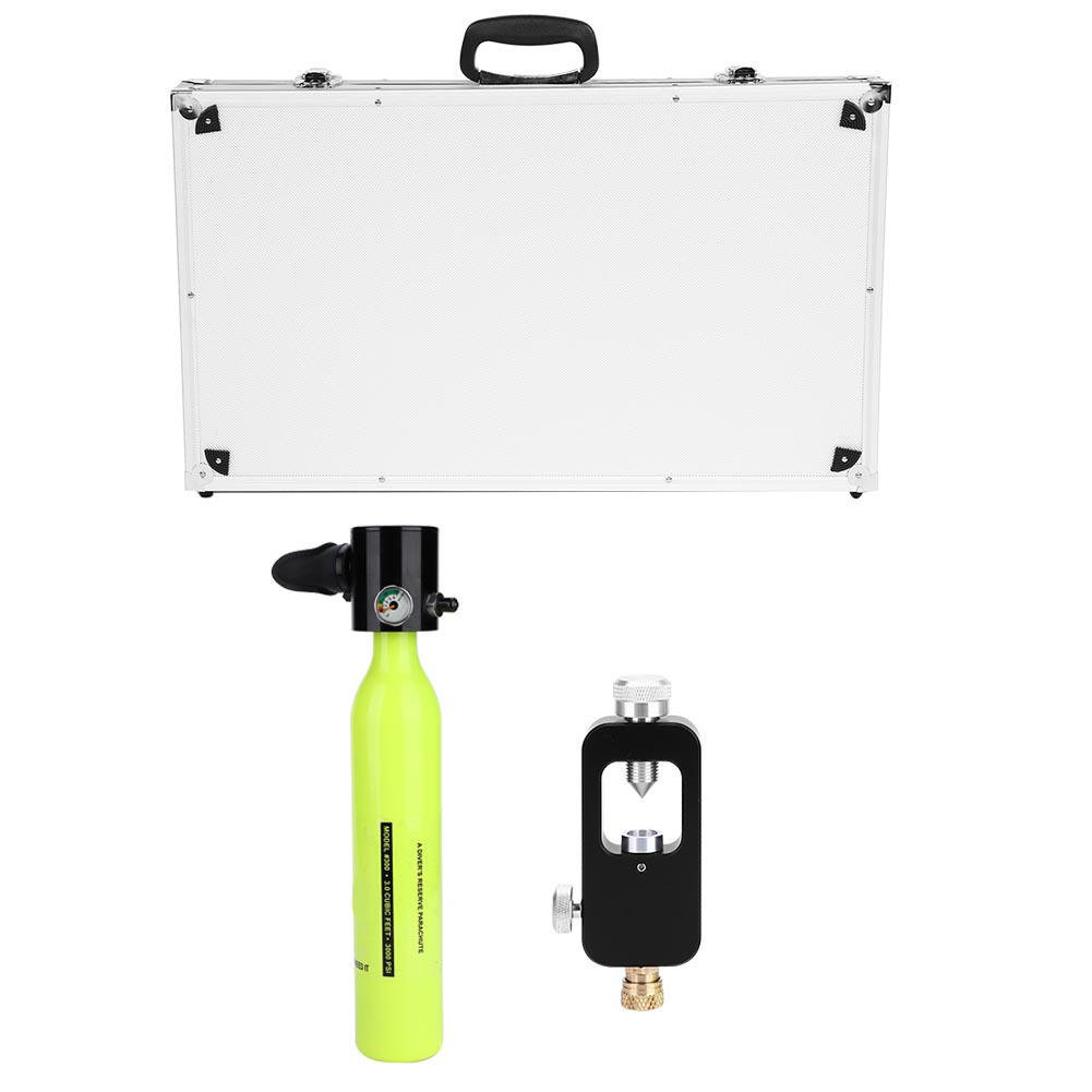 Respirator-Oxygen-Cylinder-Tank-Manual-High-Pressure-Air-Pump-Diving-Equipment thumbnail 23