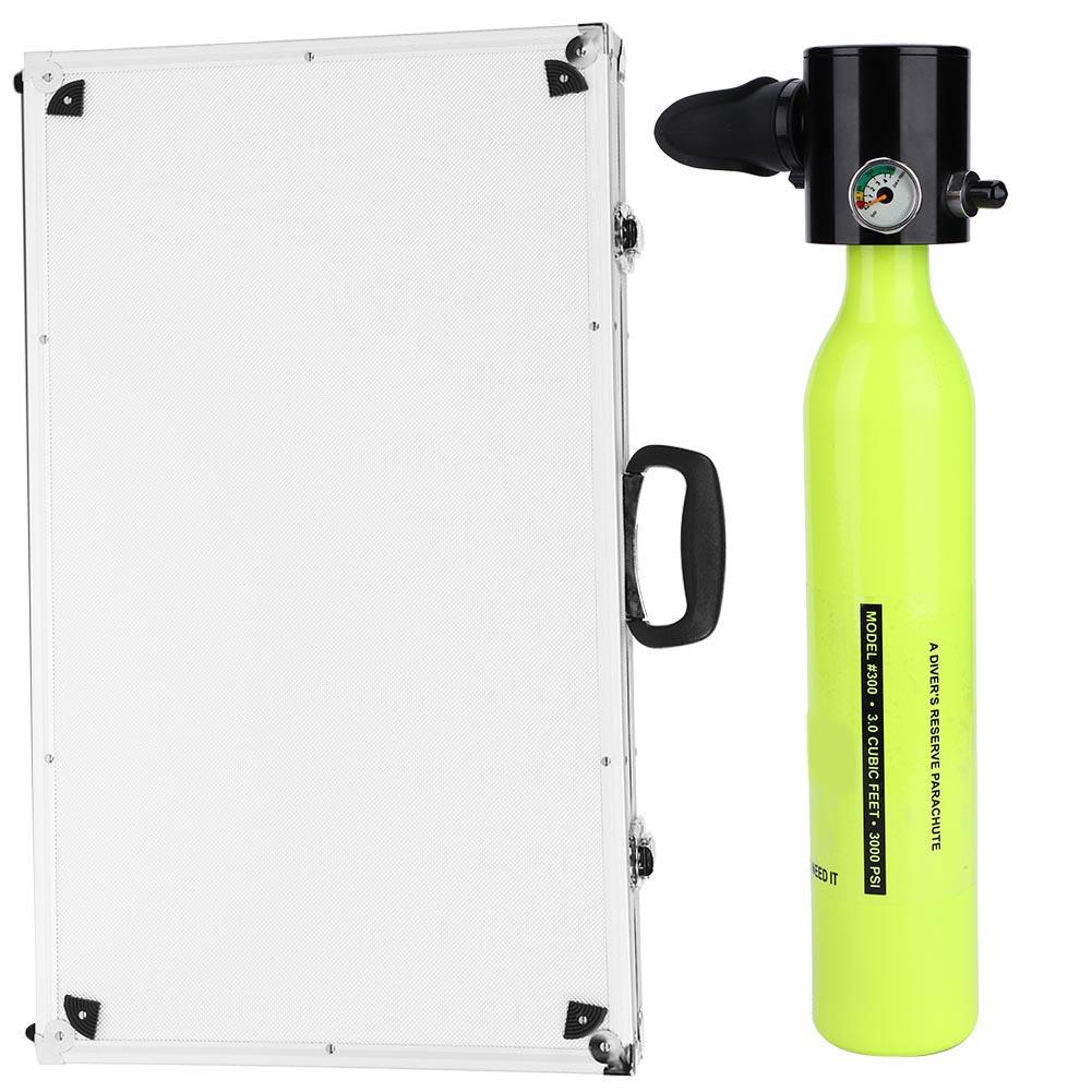 Respirator-Oxygen-Cylinder-Tank-Manual-High-Pressure-Air-Pump-Diving-Equipment thumbnail 14