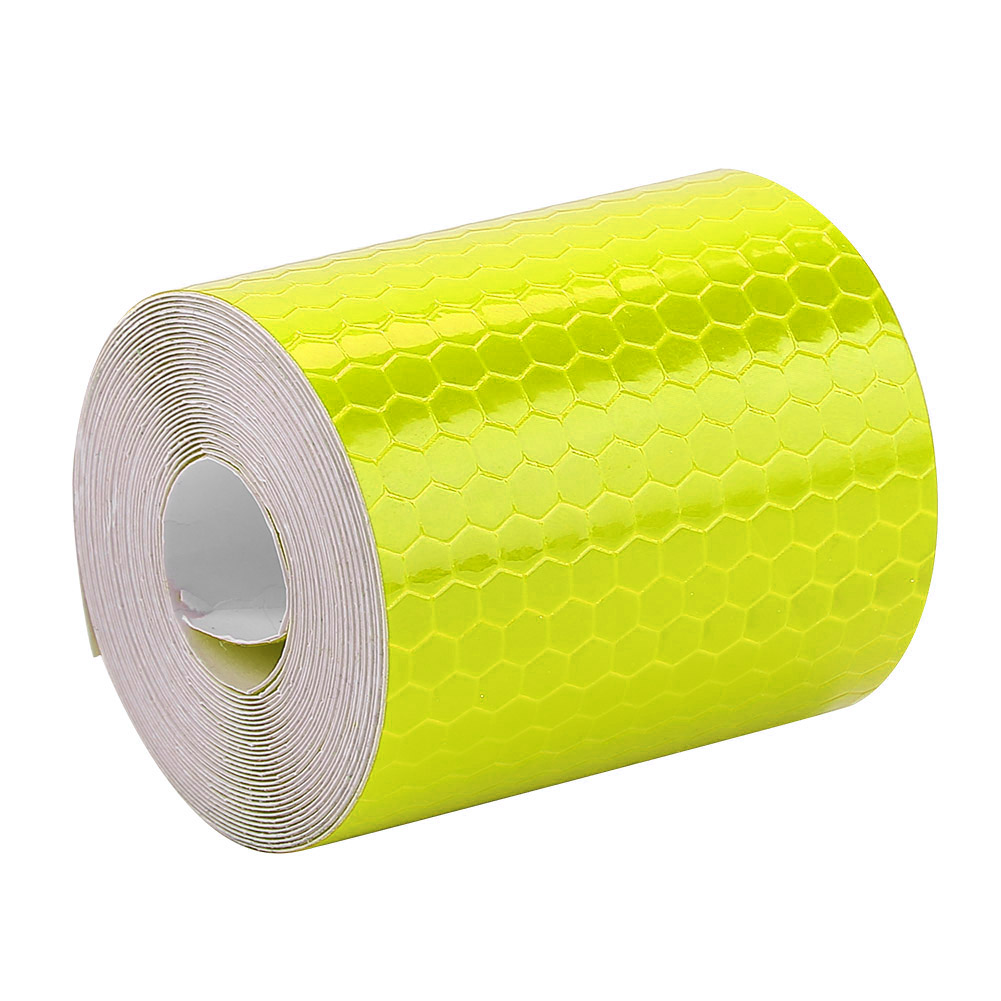 Bike Safety Adhesive Reflective Tape Roll Sticker For Bicycle Trailer Car