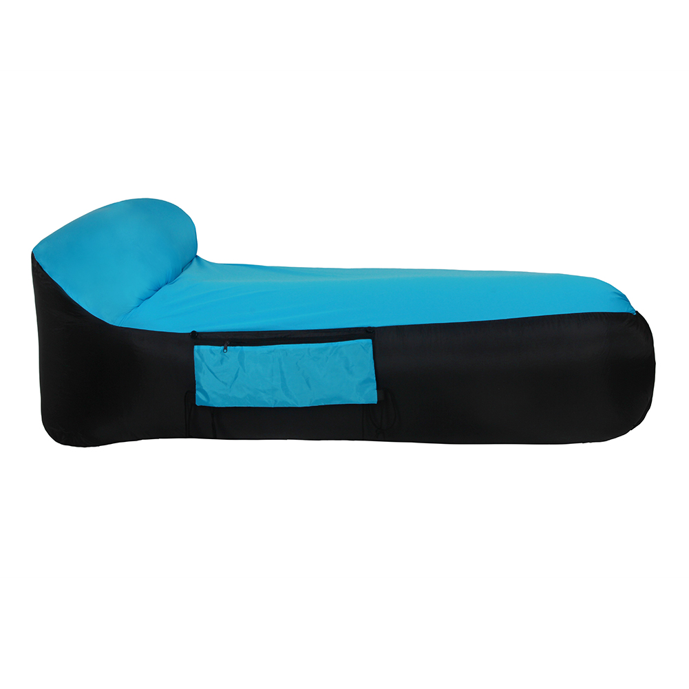 Air-Sleeping-Bag-Lazy-Chair-Lounge-Beach-Sofa-Bed-Inflatable-For-Camping-Outdoor thumbnail 29