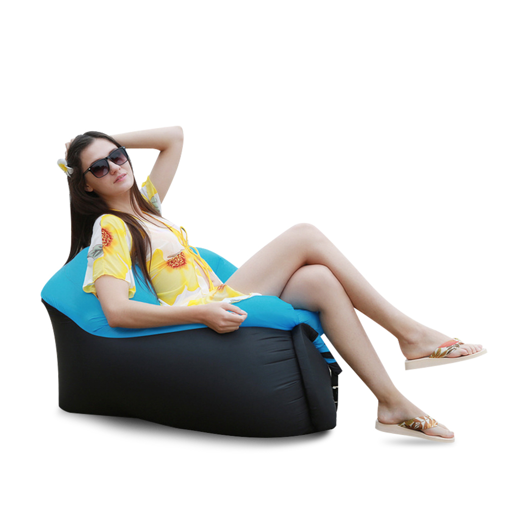 Air-Sleeping-Bag-Lazy-Chair-Lounge-Beach-Sofa-Bed-Inflatable-For-Camping-Outdoor thumbnail 33