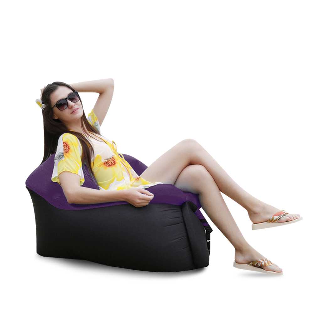Air-Sleeping-Bag-Lazy-Chair-Lounge-Beach-Sofa-Bed-Inflatable-For-Camping-Outdoor thumbnail 39