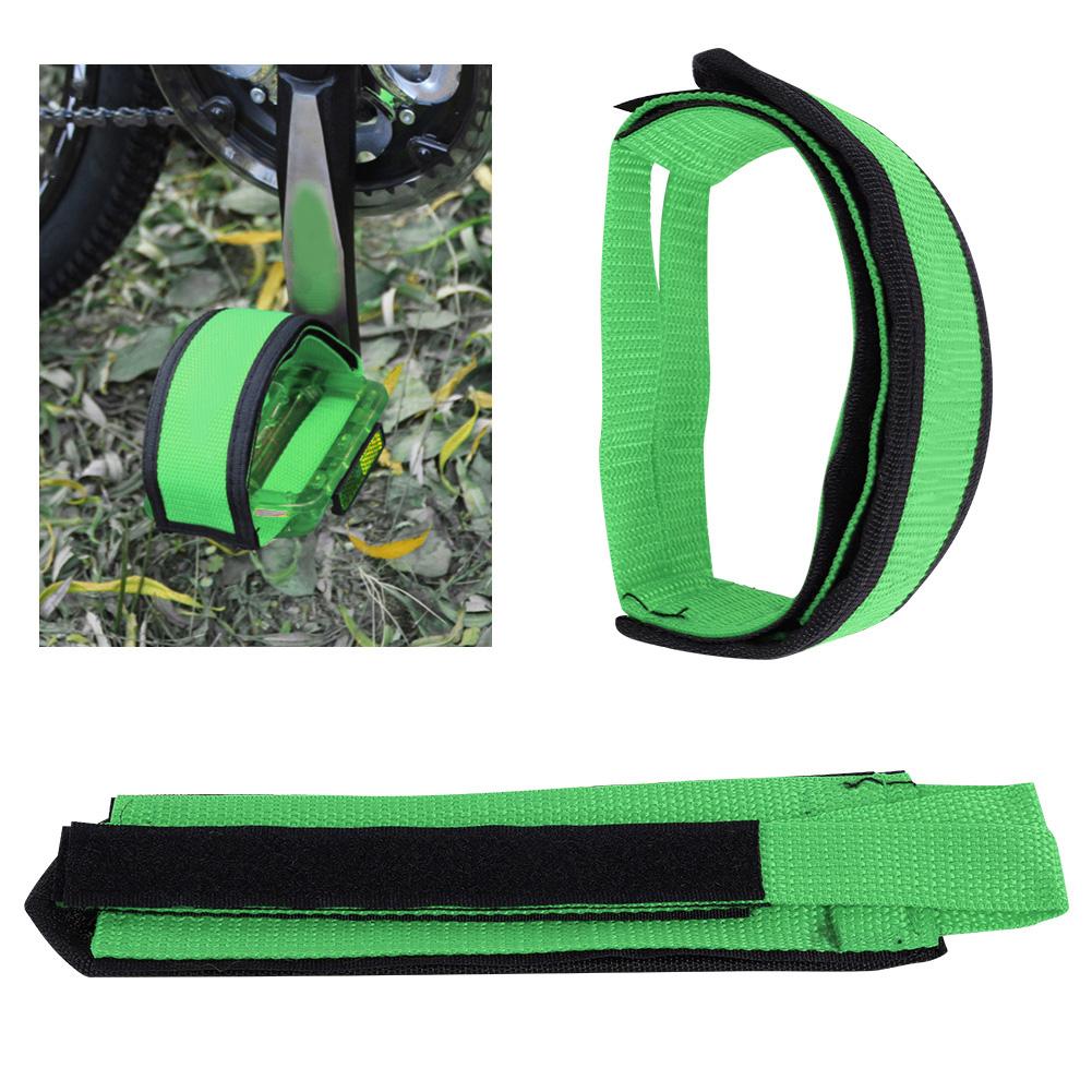 1-Pair-Fixed-Gear-Road-Bike-Bicycle-Cycling-Adhesive-Pedal-Toe-Clip-Strap-Belt thumbnail 13