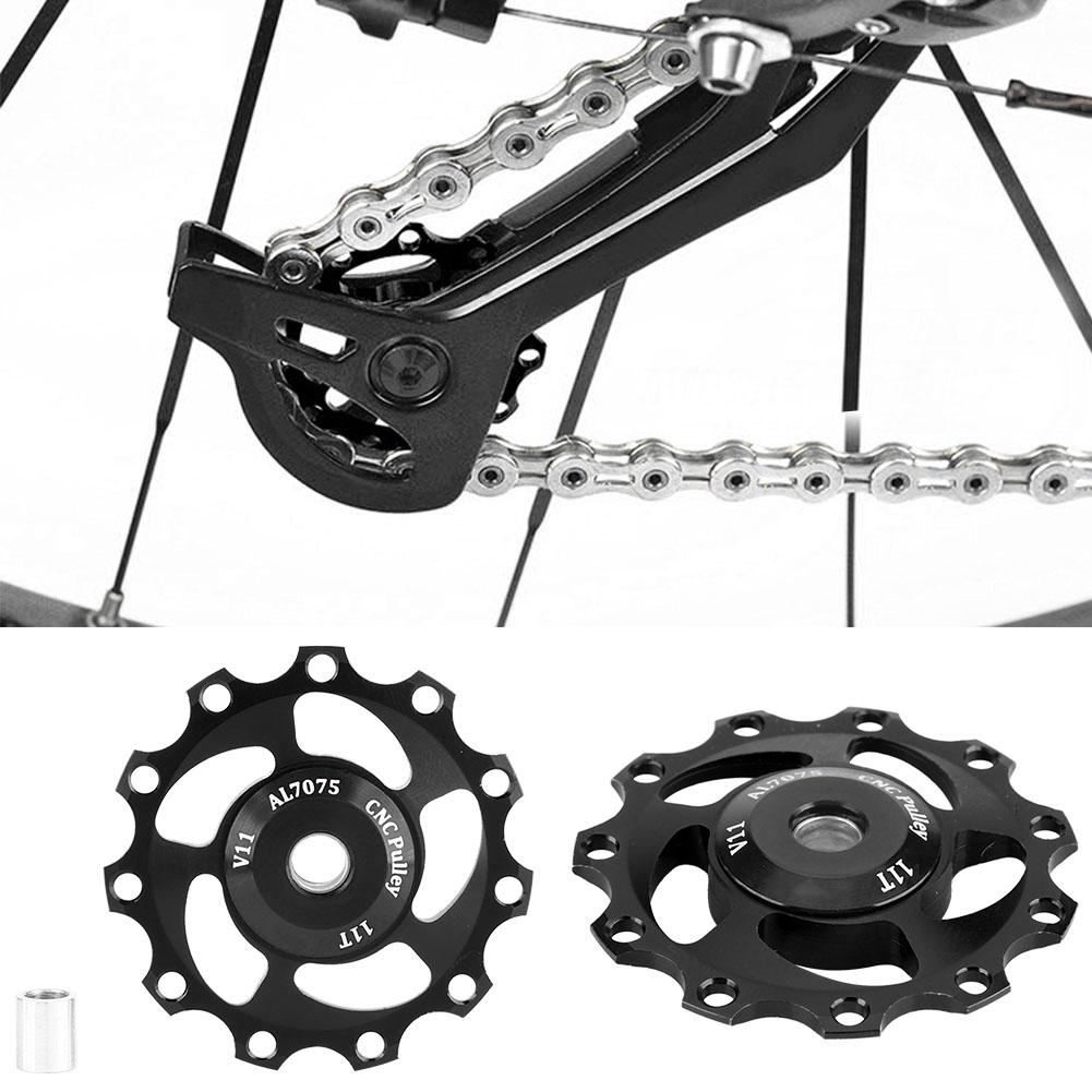 11-12-13T-14T-Mountain-Bike-Bicycle-Bearing-Jockey-Wheel-Rear-Derailleur-Pulleys thumbnail 36