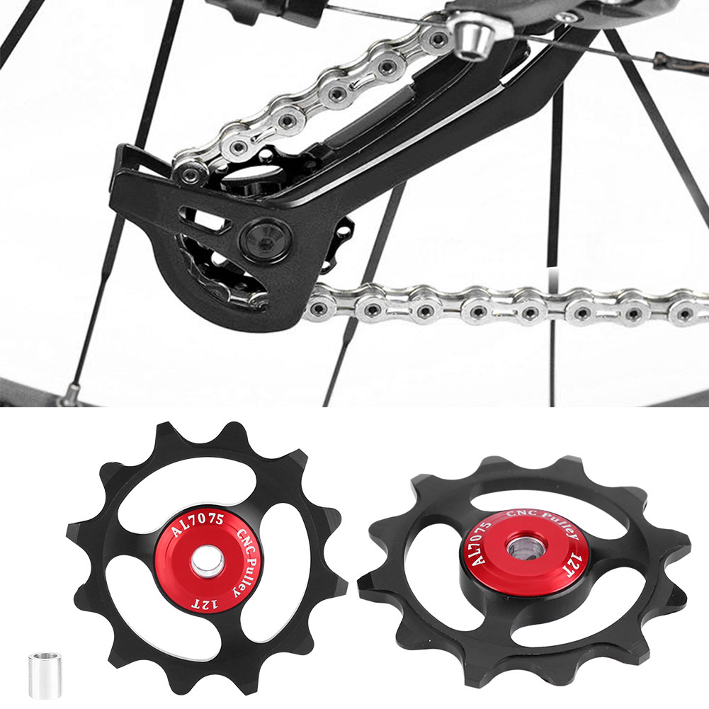 11-12-13T-14T-Mountain-Bike-Bicycle-Bearing-Jockey-Wheel-Rear-Derailleur-Pulleys thumbnail 21