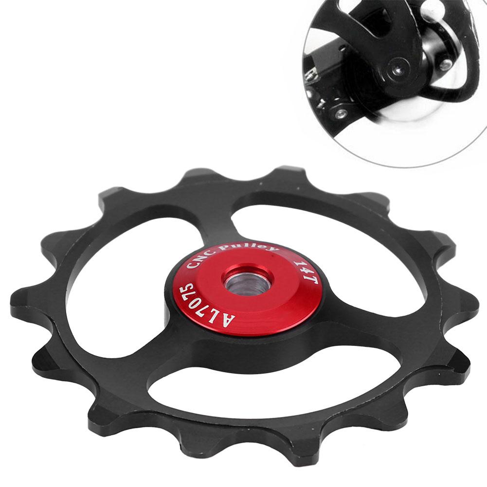 11-12-13T-14T-Mountain-Bike-Bicycle-Bearing-Jockey-Wheel-Rear-Derailleur-Pulleys thumbnail 14