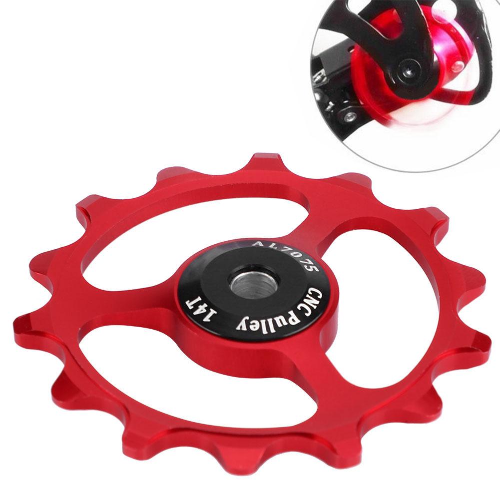 11-12-13T-14T-Mountain-Bike-Bicycle-Bearing-Jockey-Wheel-Rear-Derailleur-Pulleys thumbnail 17