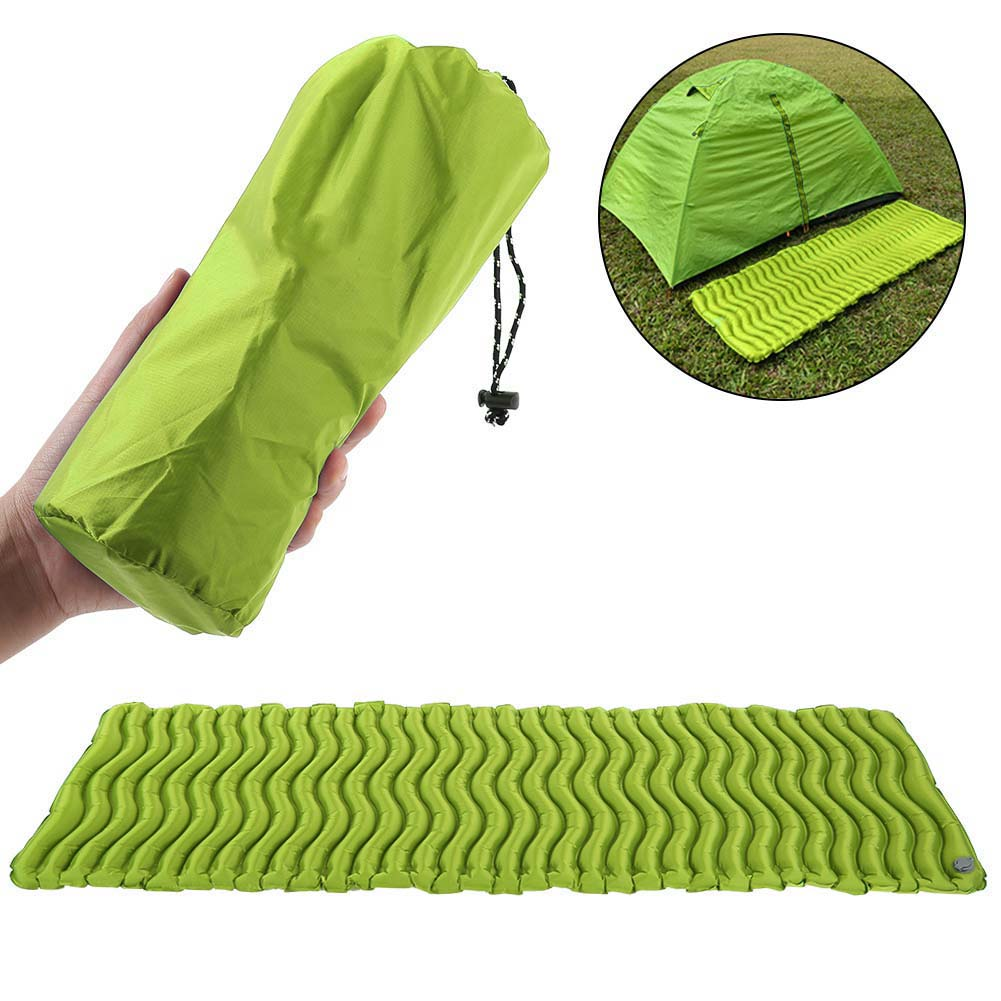 Outdoor-Ultralight-Inflatable-Sleeping-Mat-Camping-Air-Pad-Roll-Bed-Mattress-NEW thumbnail 15