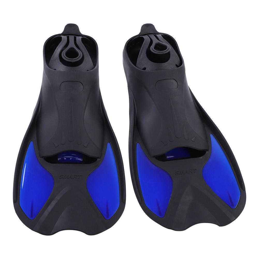 Diving-Foot-Short-Fins-Swim-Flippers-Scuba-Snorkeling-Snorkel-Diving-Surf-Set thumbnail 17