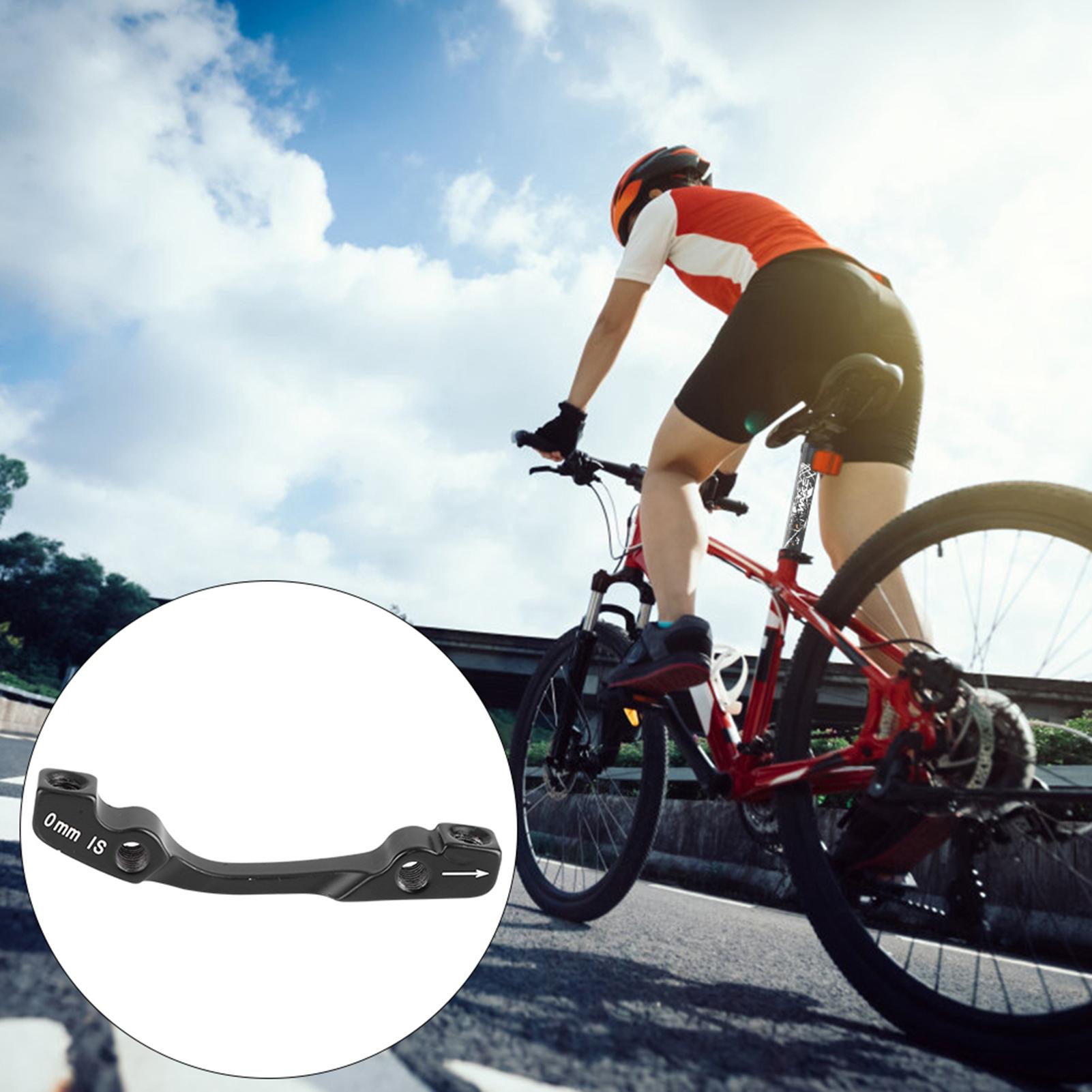 Bike-Adapter-MTB-Ultralight-Bracket-Disc-Brake-Mount-for-140-160-180-203mm-rotor thumbnail 15