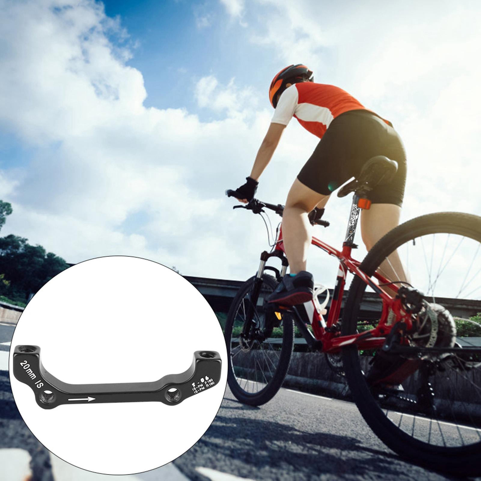 Bike-Adapter-MTB-Ultralight-Bracket-Disc-Brake-Mount-for-140-160-180-203mm-rotor thumbnail 18