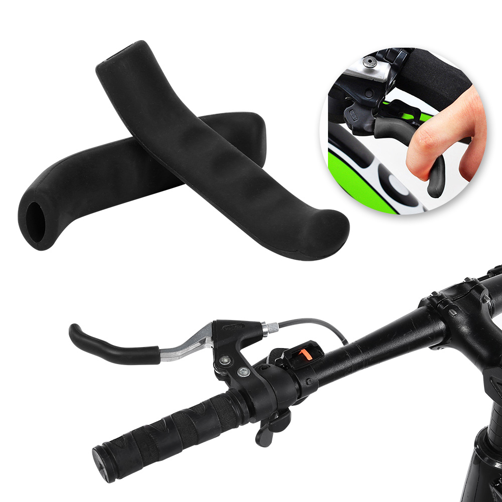 Mountain Bike Lever Cover Handlebar Grip Brake Lever Silicone Cover Protectors