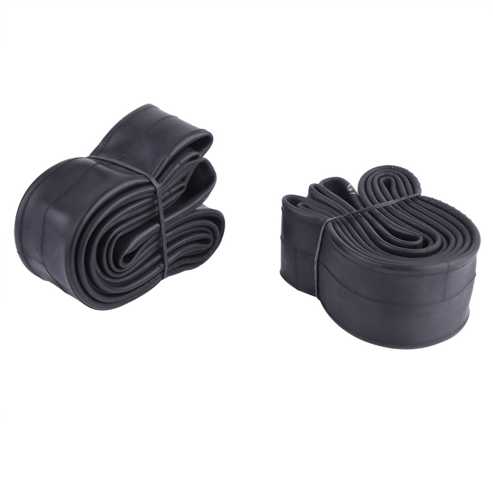 Bicycle Inner Tube Bicycle Butyl Rubber Tire Interior W5G6