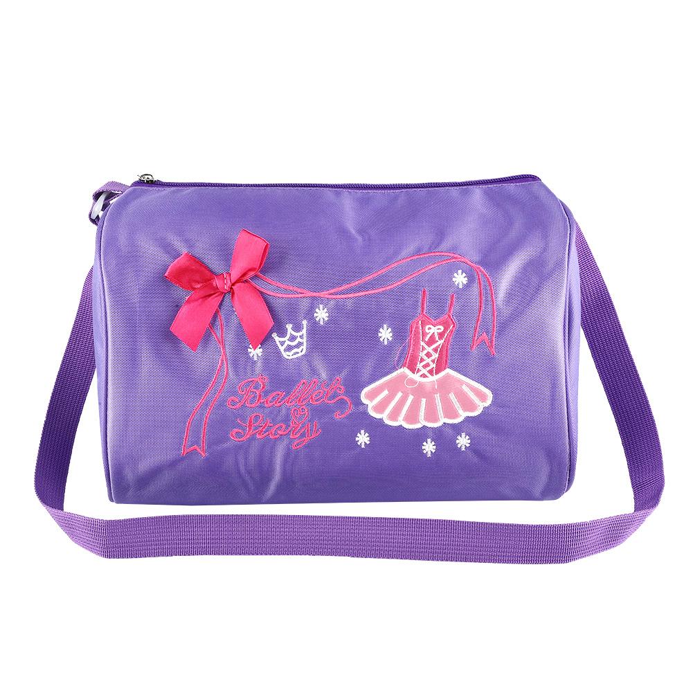 Kids-Girls-Embroidered-Sequined-Handbag-Shoulder-Bag-Tote-For-Sport-Dance-Ballet miniature 15