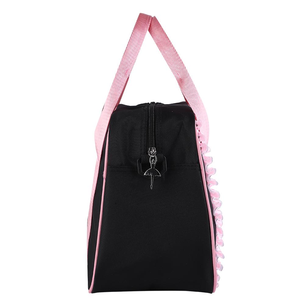 Kids-Girls-Embroidered-Sequined-Handbag-Shoulder-Bag-Tote-For-Sport-Dance-Ballet miniature 18
