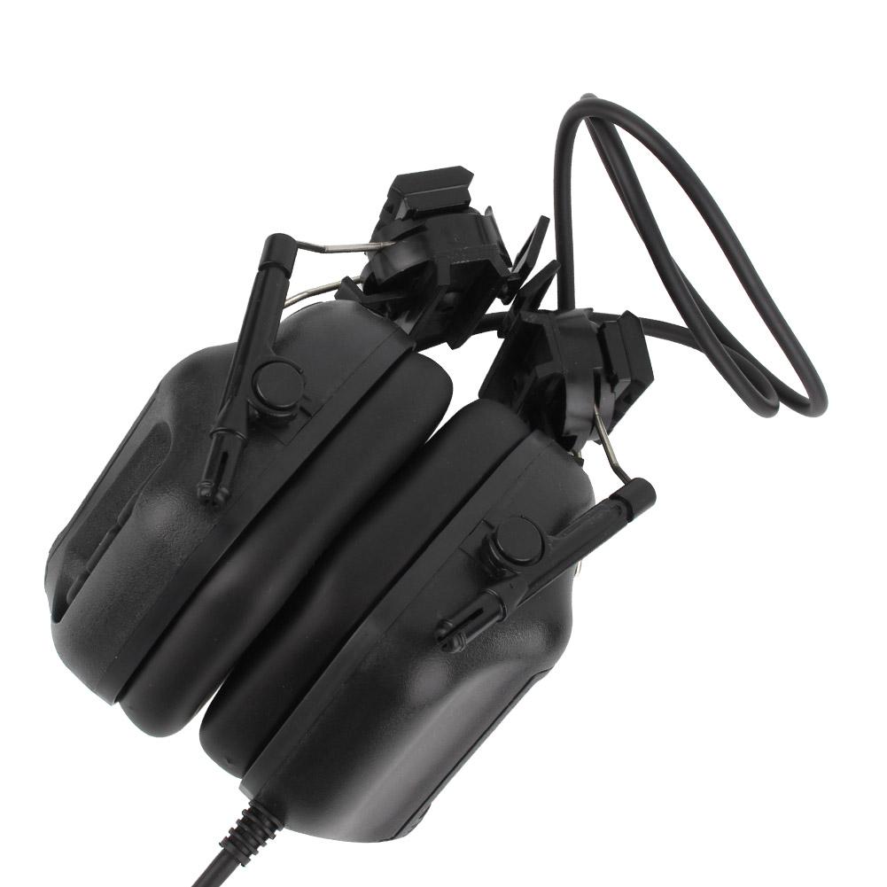 Outdoor-Waterproof-Tactics-Microphone-Earphone-Headset-for-CS-Combats-Hunting thumbnail 12