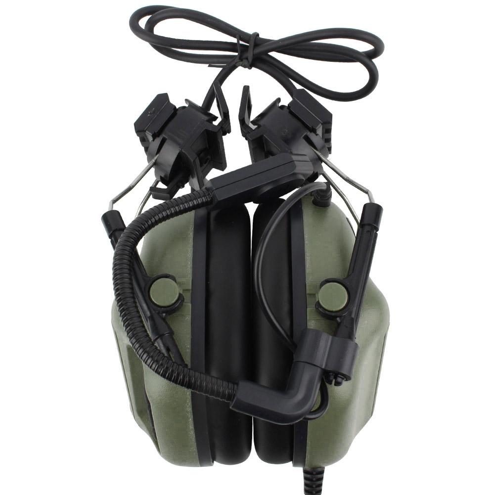 Outdoor-Waterproof-Tactics-Microphone-Earphone-Headset-for-CS-Combats-Hunting thumbnail 18