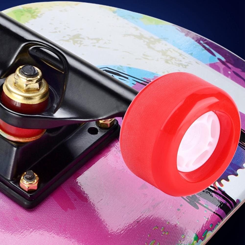 PUENTE-4pcs-PU-Skateboard-Wheels-Skating-Long-Board-Wheel-Superior-Quailty-Solid thumbnail 12