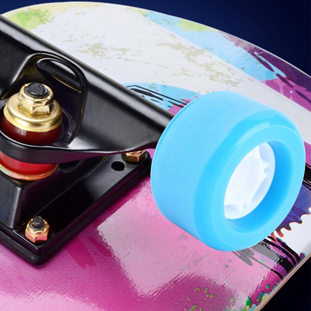 PUENTE-4pcs-PU-Skateboard-Wheels-Skating-Long-Board-Wheel-Superior-Quailty-Solid thumbnail 15
