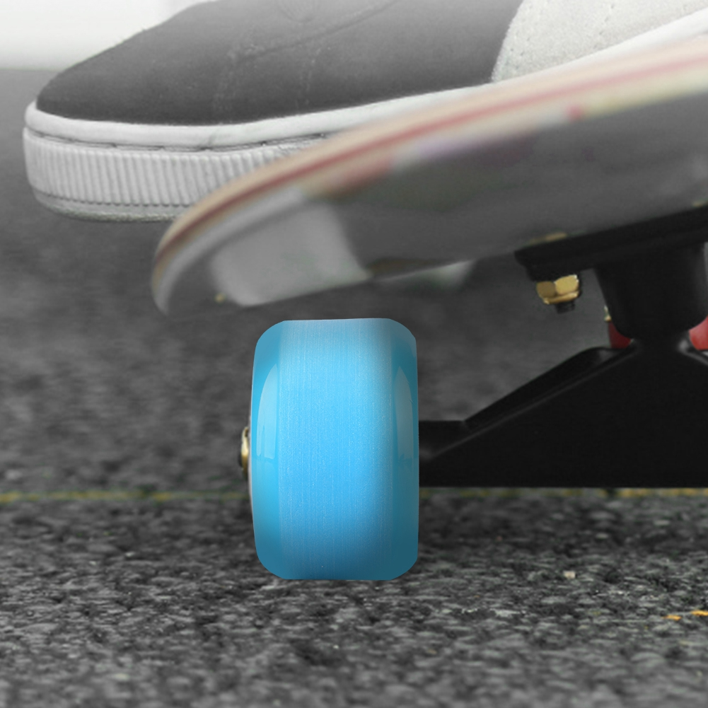 PUENTE-4pcs-PU-Skateboard-Wheels-Skating-Long-Board-Wheel-Superior-Quailty-Solid thumbnail 16