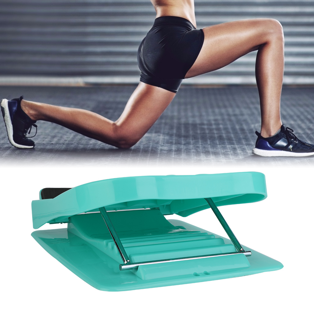 Household-Folding-Foot-Calf-Stretcher-Massage-Leg-Fitness-Slant-Pedal-Board-ABS thumbnail 13