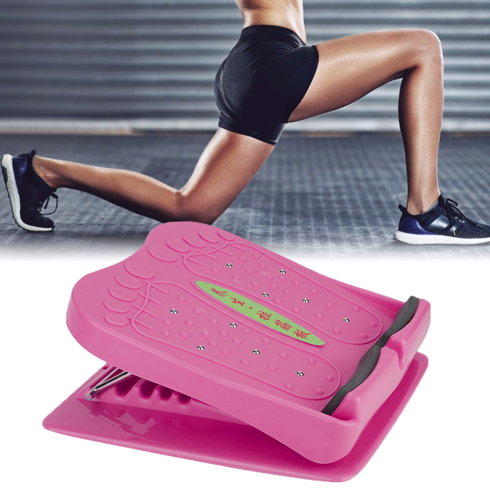 Household-Folding-Foot-Calf-Stretcher-Massage-Leg-Fitness-Slant-Pedal-Board-ABS thumbnail 16