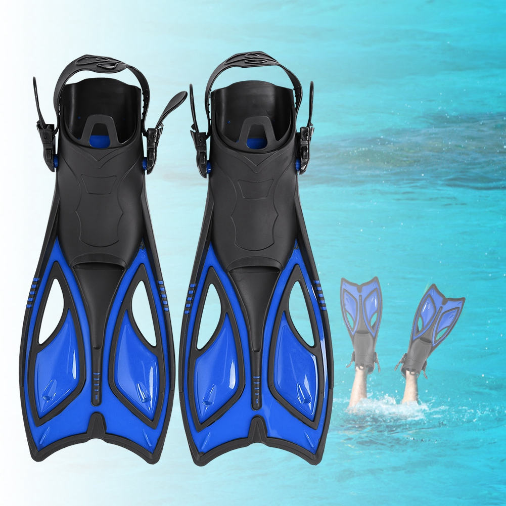 Outdoor-Diving-Fins-Foot-Fin-Flexible-Comfort-Adult-Snorkeling-Water-Sports thumbnail 17