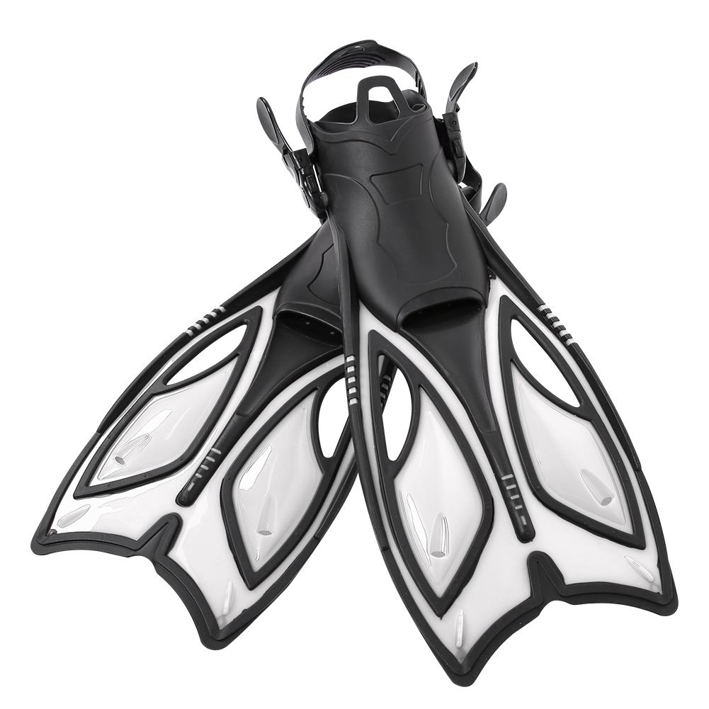 Outdoor-Diving-Fins-Foot-Fin-Flexible-Comfort-Adult-Snorkeling-Water-Sports thumbnail 22